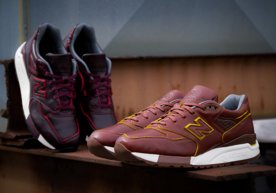 Horween Leather x New Balance M998DW Pack