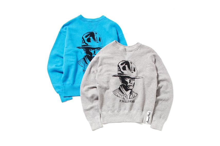 "HUMAN MADE automne hiver 2014 ""P. WILLIAMS"" Sweatshirt"