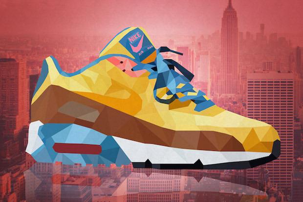 Des sneakers emblématiques illustrées par Mateusz Wójcik