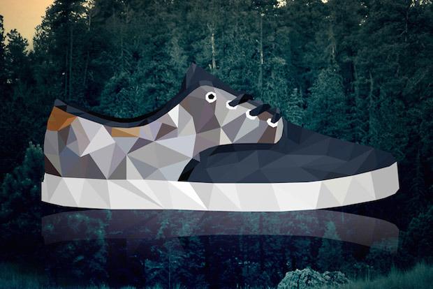 sneakers illustrées par Mateusz Wójcik