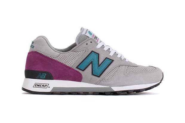 New Balance 1300 Light Grey / Teal / Purple
