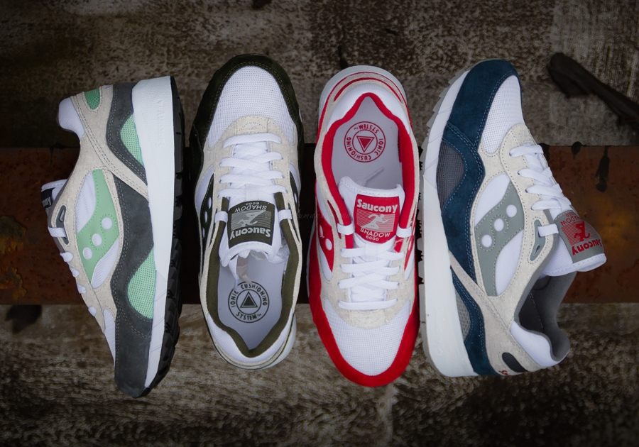 Saucony Shadow 6000 «Running Man» Pack