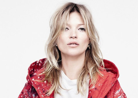Kate Moss pour Sterling Ruby et Raf Simons dans Another Magazine