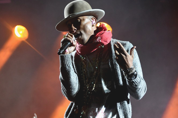 Pharrell Williams en live au festival Made in America