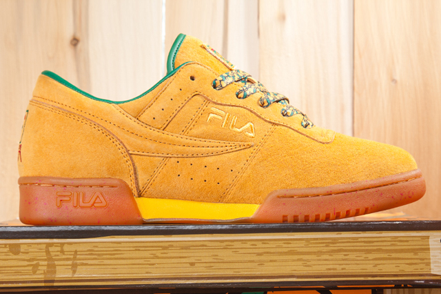 Fly Kix x FILA Original Fitness « Peach State »