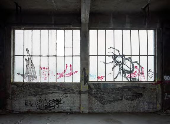 Graffiti Général Karim Boukercha (c) Yves Marchand & Romain Meffre