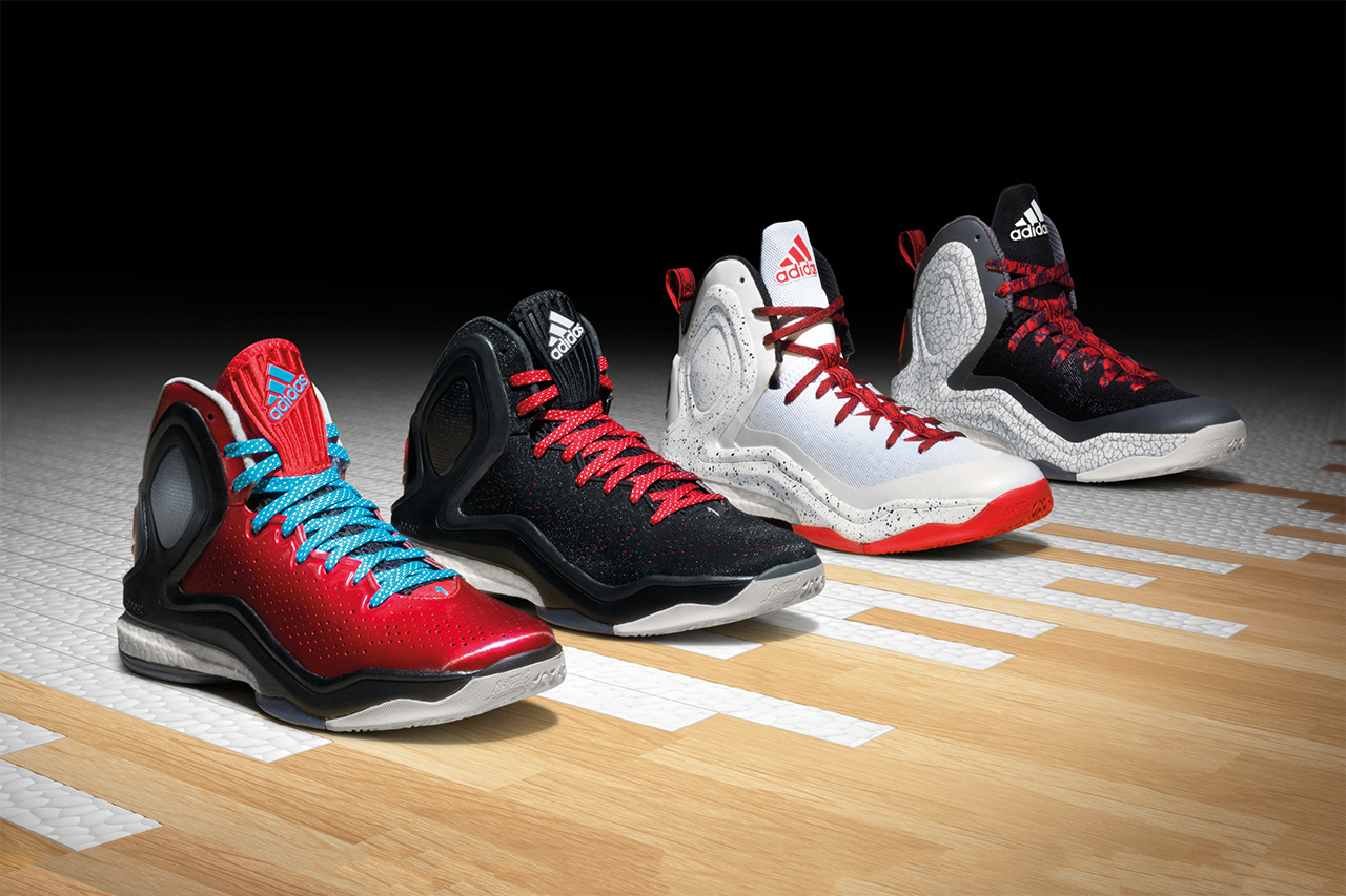 adidas D Rose 5 Boost « Home » & « Alternate Away »