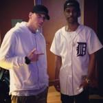 Big Sean et Eminem en studio