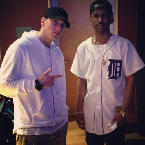 Big Sean et Eminem en studio