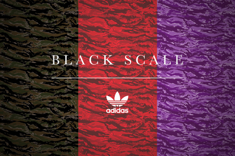 Black Scale x adidas Originals : Teaser Automne / Hiver 2014