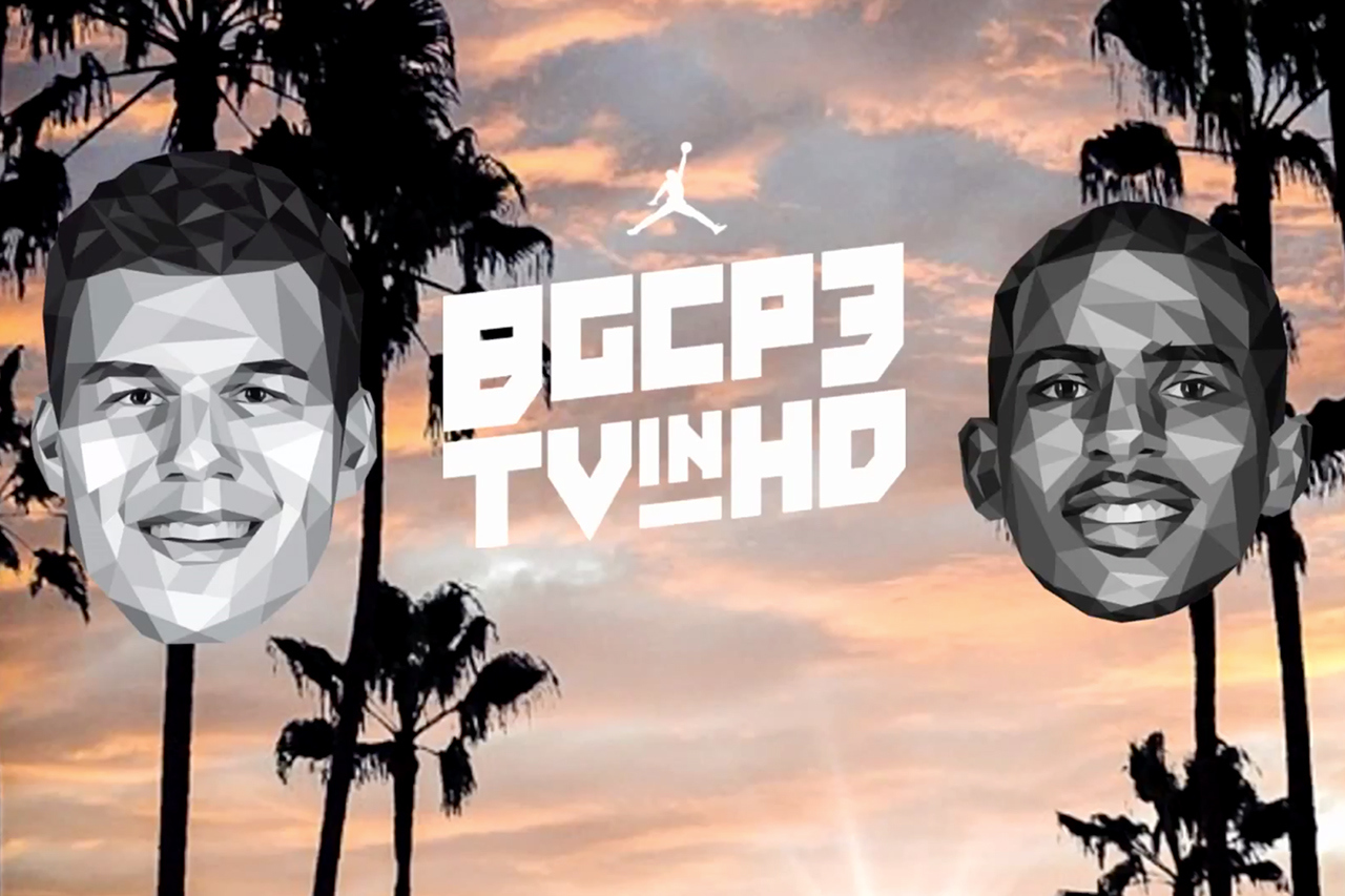 Blake Griffin & Chris Paul collaborent pour la série BGCP3TVinHD
