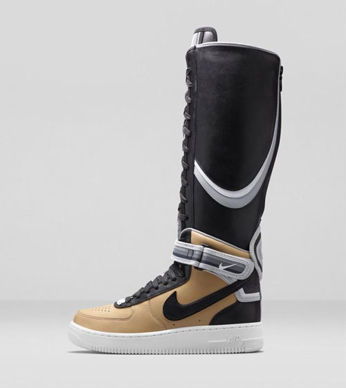Riccardo Tisci x Nike Air Force 1 beige Boot
