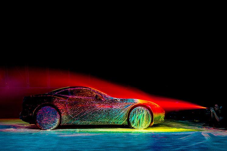 Ferrari California T colorée
