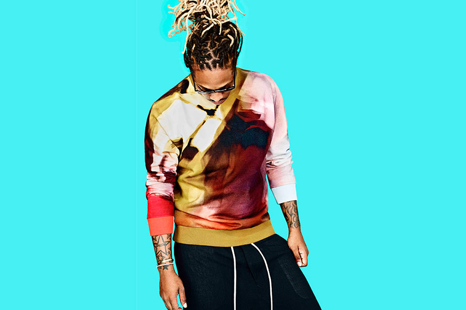 Future en Balmain pour The Journal de Mr Porter