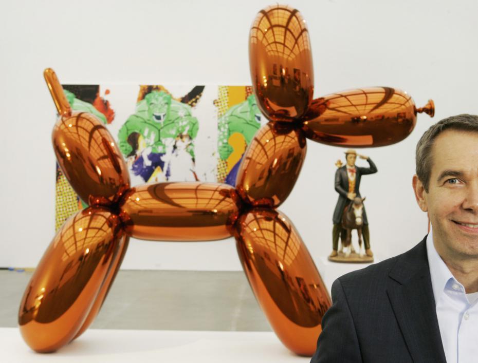 L'exposition-événement Jeff Koons à Beaubourg