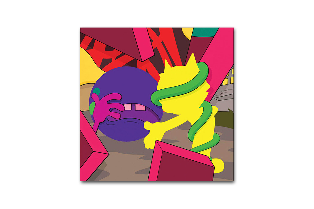 Kaws presenting the past