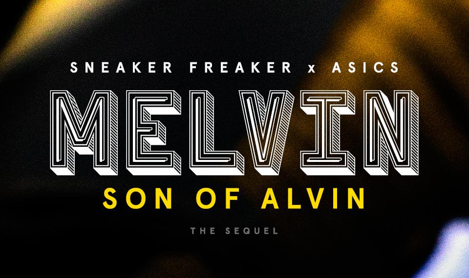 Sneaker Freaker x ASICS Gel Kayano Trainer «MELVIN (Son of Alvin)»