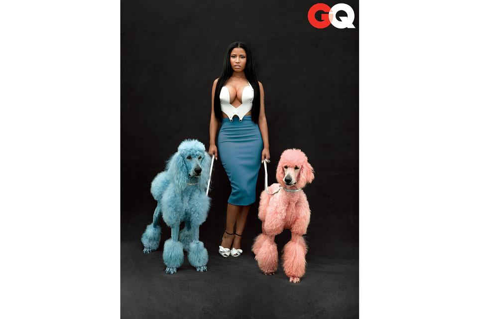 Nicki Minaj parle d'Anaconda dans le GQ US