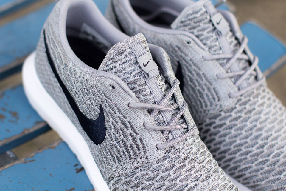 Nike Roshe Run Flyknit « Wolf Grey
