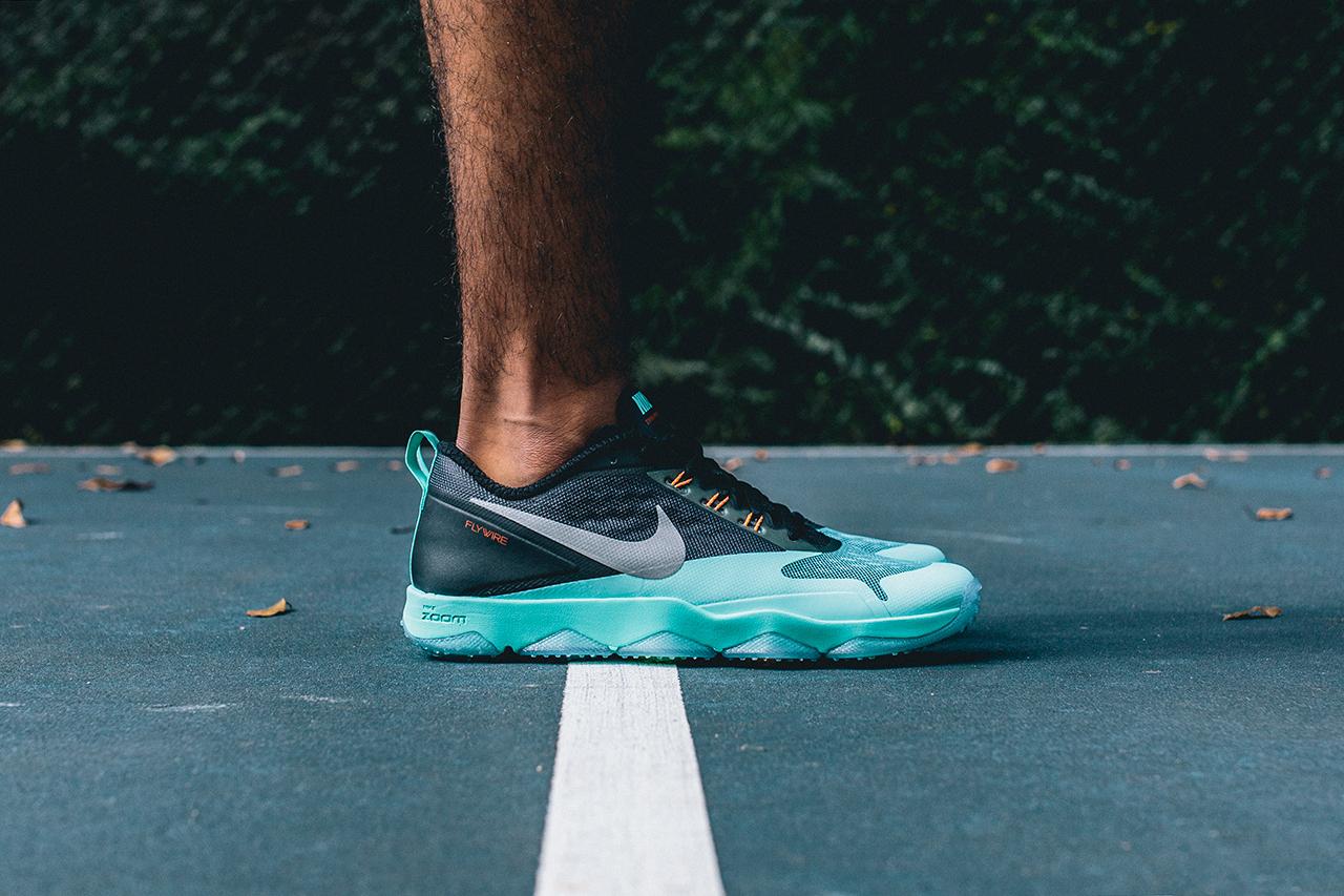 Nike Zoom Hypercross Trainer Black/Turquoise