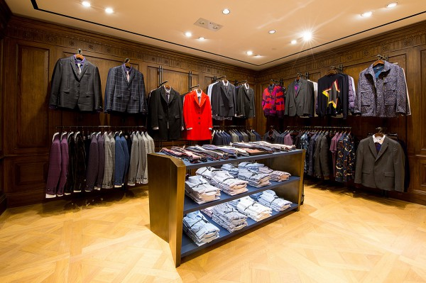 Ouverture store Paul Smith en chine