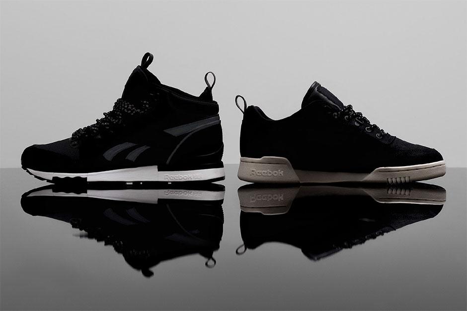Size? x Reebok Classic «Black Winter» Pack