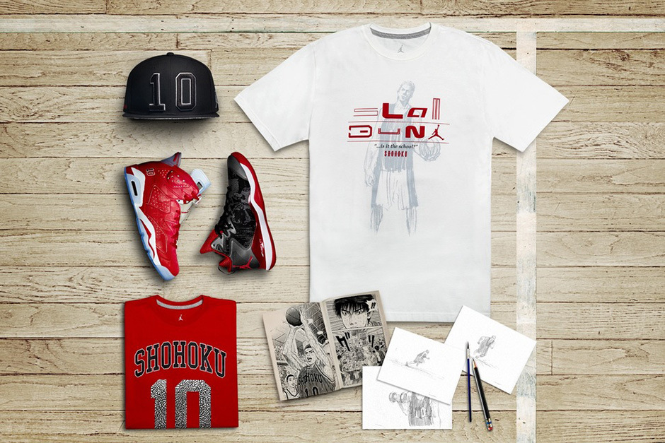 Slam Dunk x Jordan Brand : nouvelle collection