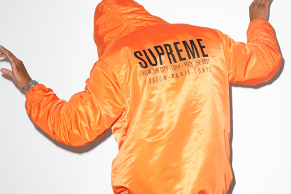 Terry Richardson x Supreme pour le magazine Sense
