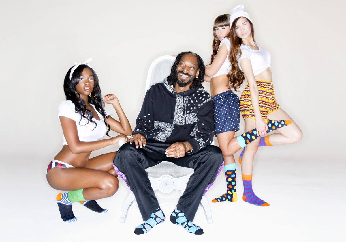 Happy Socks x Snoop Dogg, les chaussettes gangsta