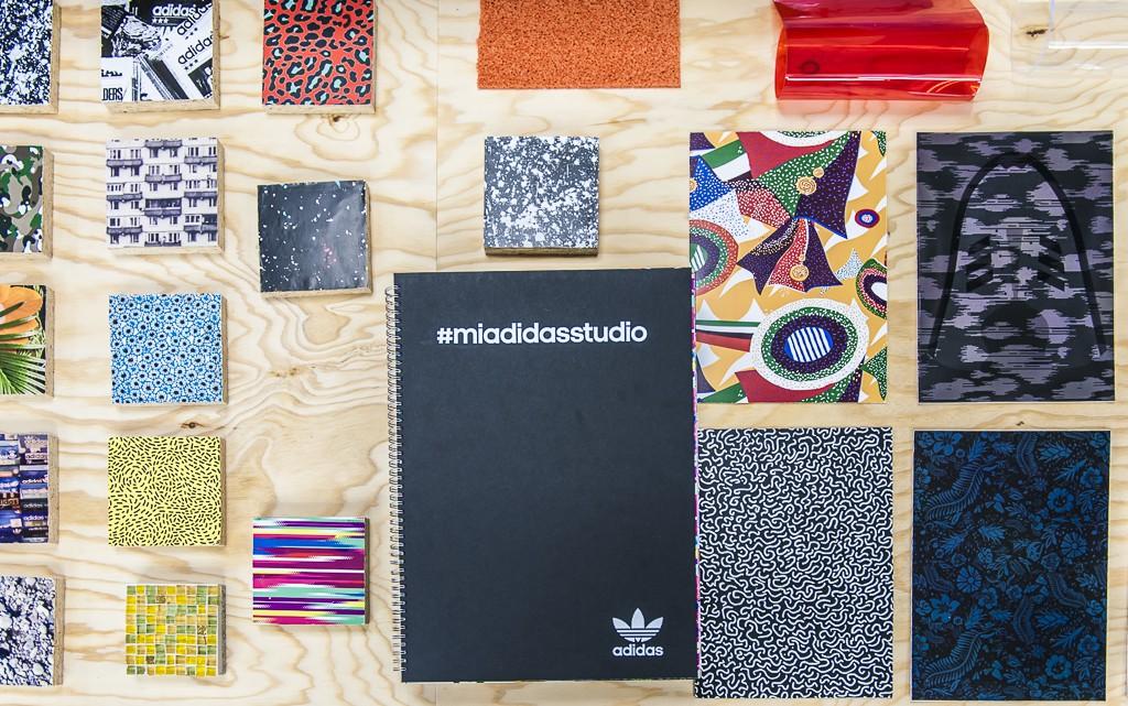 Le mi adidas studio d'adidas originals à Berlin