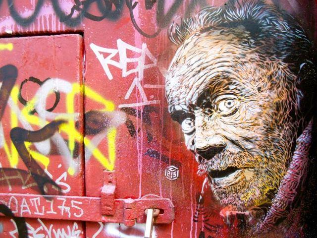 C215 Street Art Stencil