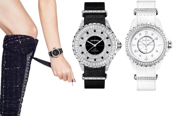 Chanel J12 G10 noir et blanc