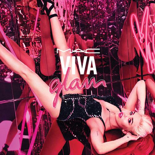 M.A.C et Miley Cyrus s'associent pour la ligne Viva Glam 2015