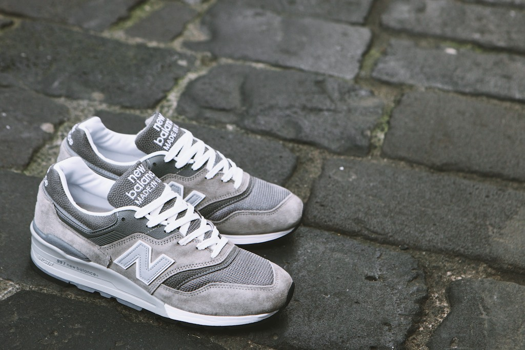 new balance 997 homme blanche