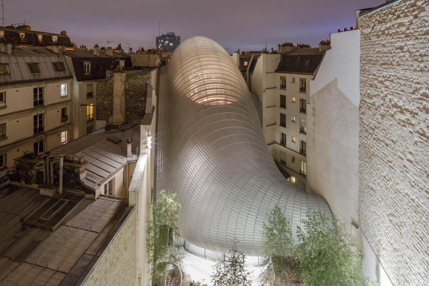 fondation Jérôme Seydoux - Pathé, Renzo Piano, Paris