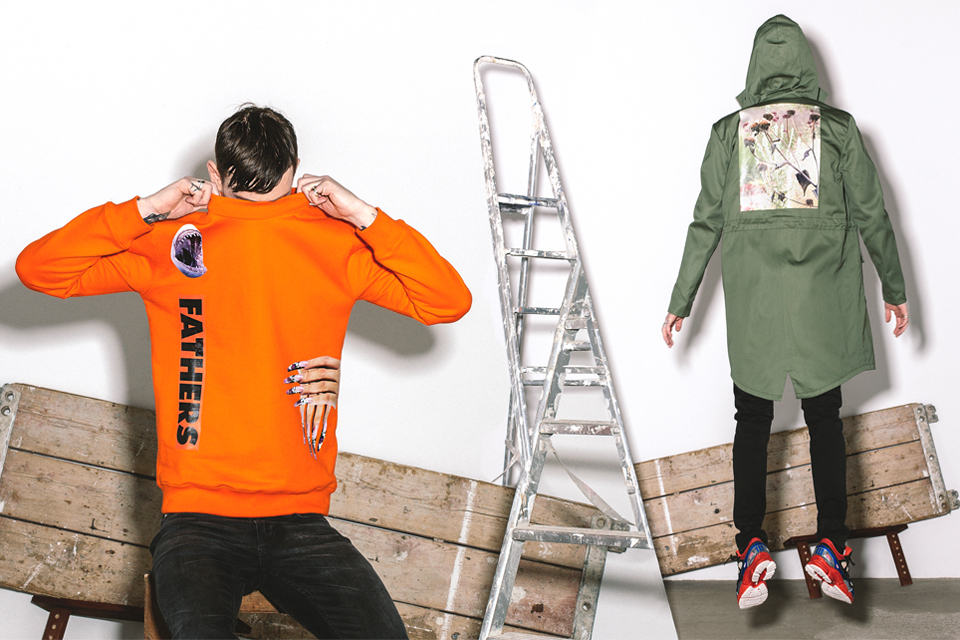 Le lookbook de SOTO pour la collection Raf Simons x Sterling Ruby automne-hiver 2014