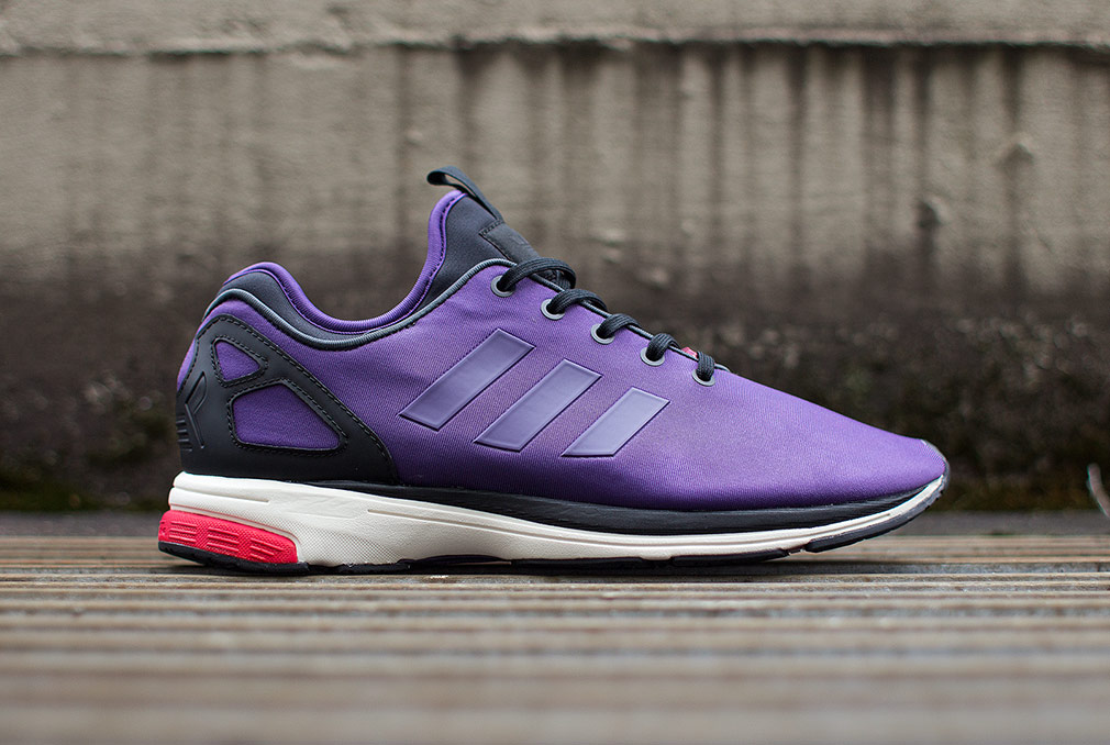 ADIDAS ZX FLUX TECH NPS 'DARK VIOLET'