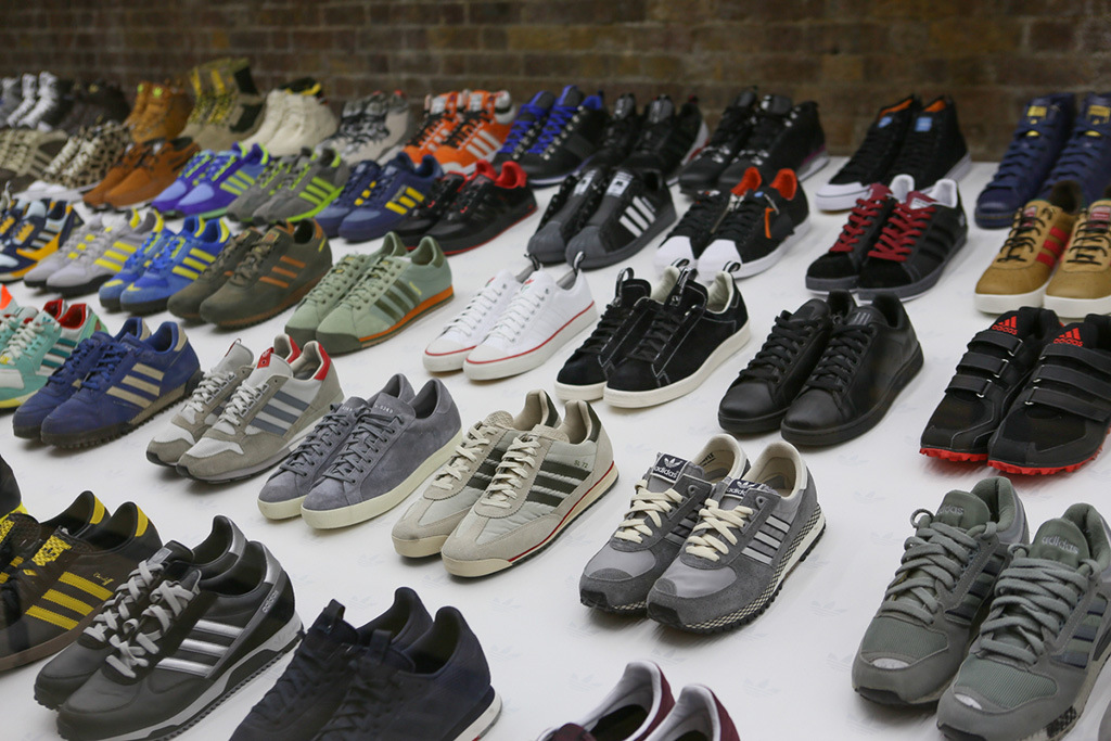 L'exposition Adidas Spezial au n°42, le concept-store parisien d'Adidas