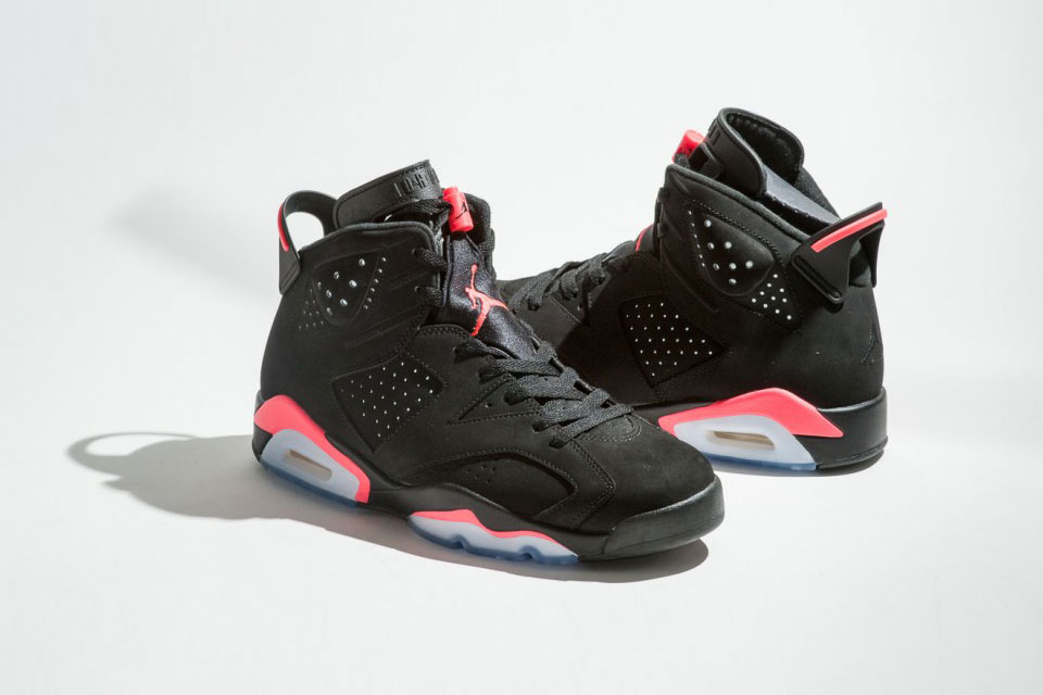 La réédition 2014 de la Air Jordan 6 « Black Infrared »