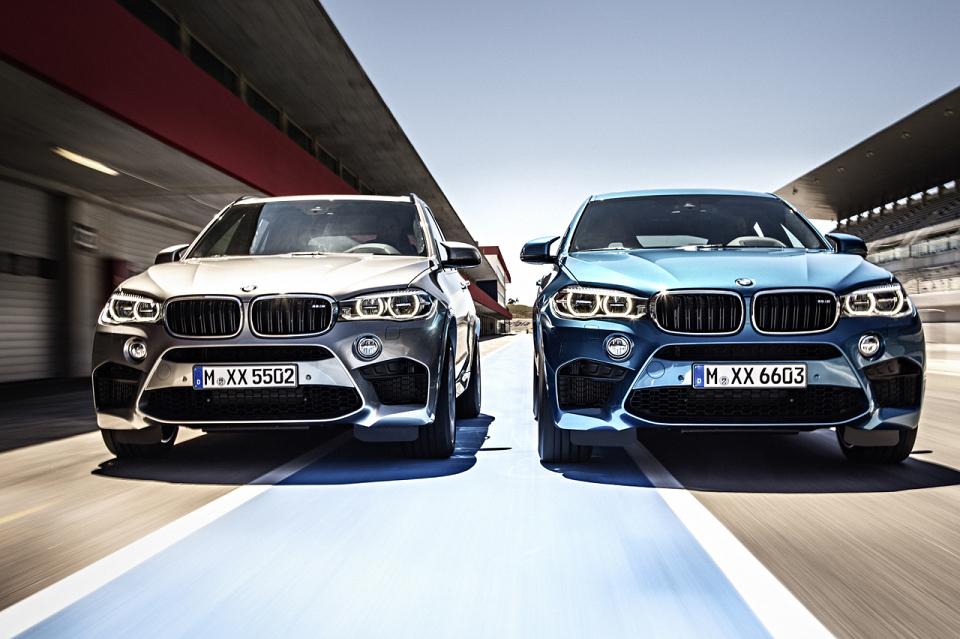 BMW annonce le X6 M et le X5 M !
