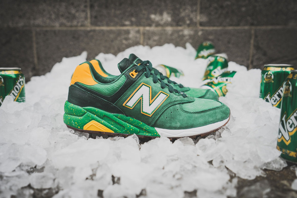 Burn Rubber x New Balance 572 « Vernors »
