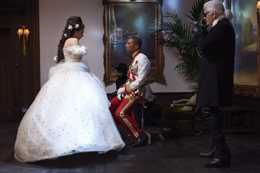 Chanel dévoile des images de son nouveau film avec Cara Delevingne et Pharrell Williams en guest stars