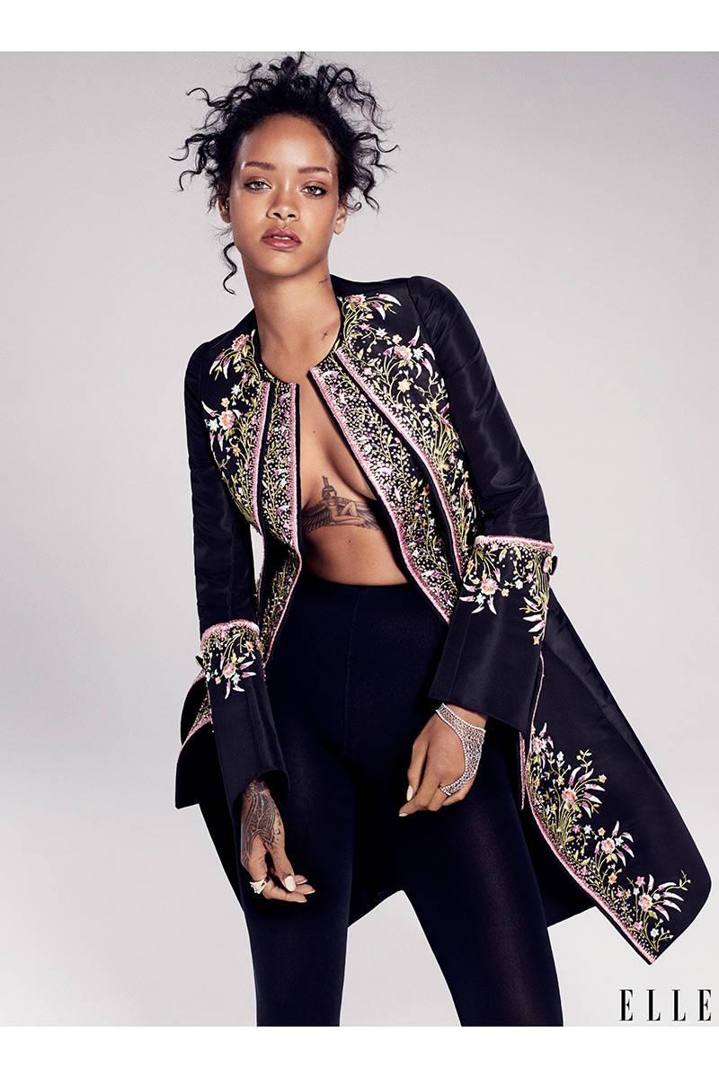 Elle USA Rihanna 3