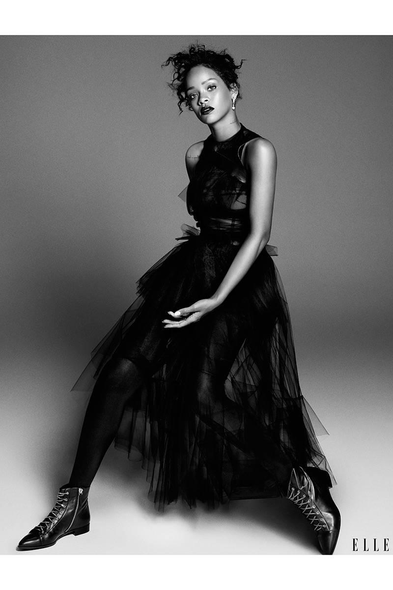 Elle USA Rihanna 4