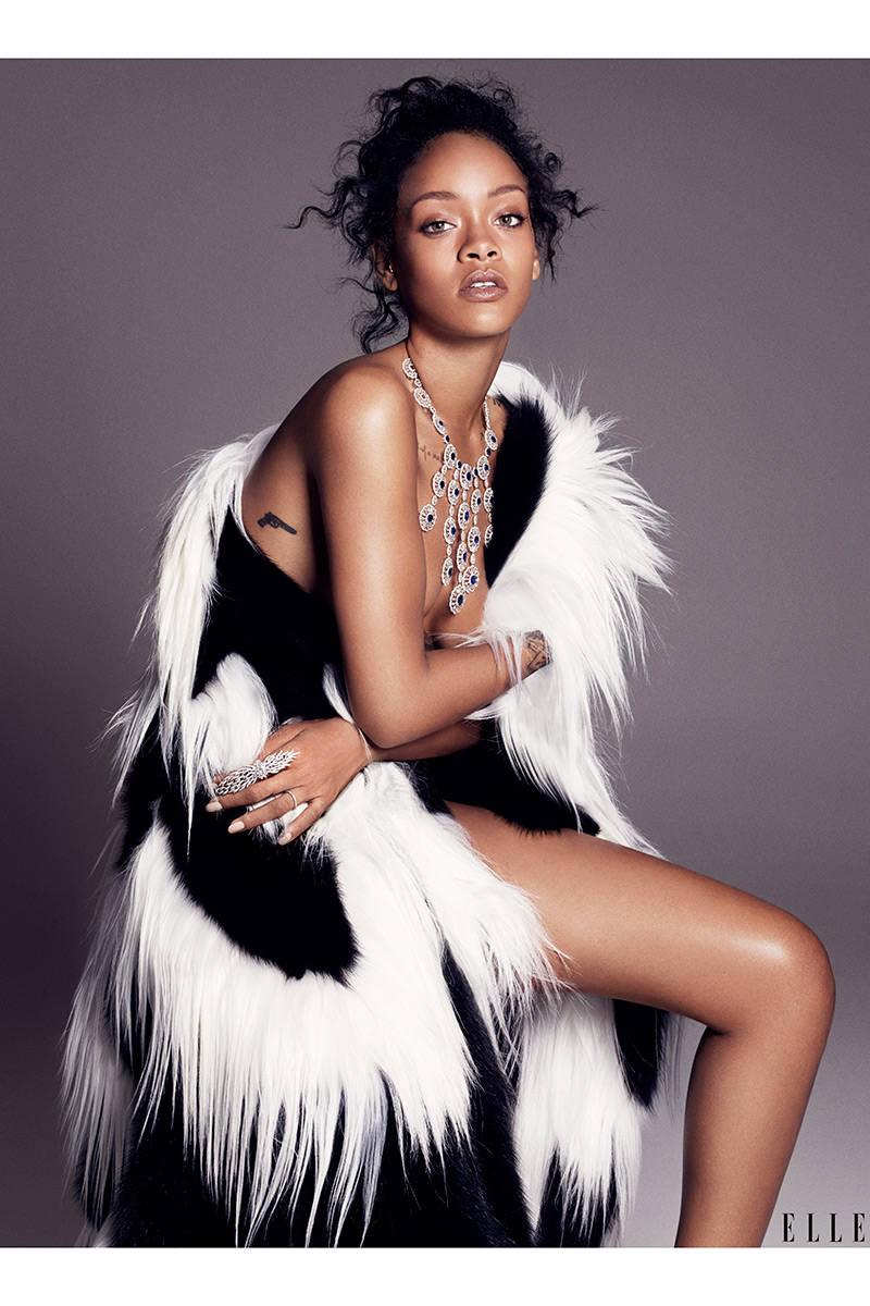 Elle USA Rihanna 5