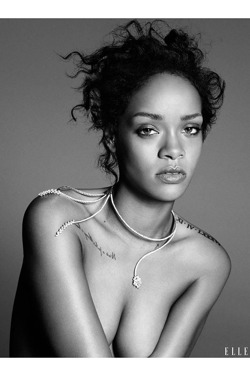 Elle USA Rihanna 6