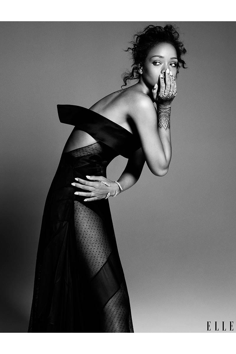 Elle USA Rihanna 8