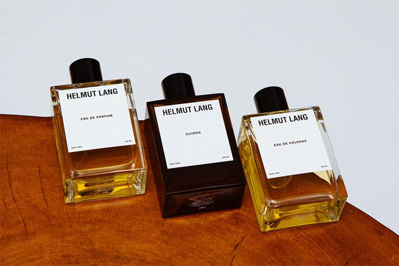 La renaissance des trois fragrances signatures d'Helmut Lang