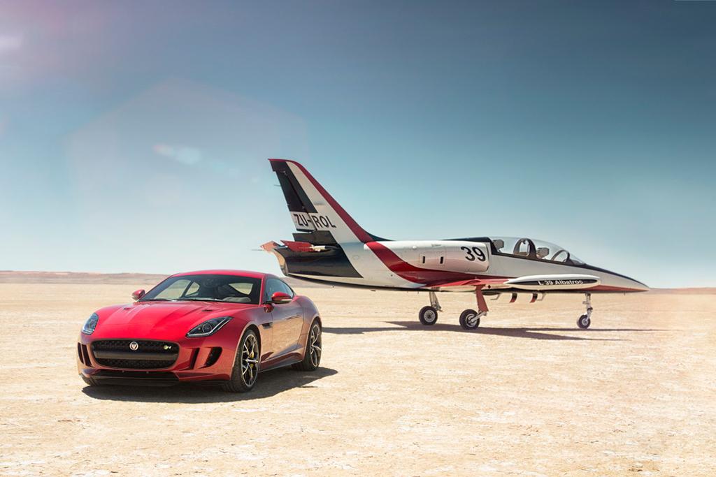La Jaguar F-Type 2015 sera présentée au salon de Los Angeles