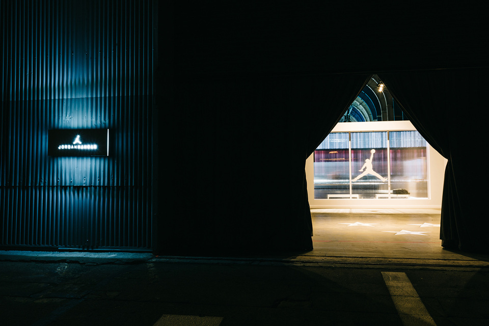 Le hangar Jordan à Los Angeles